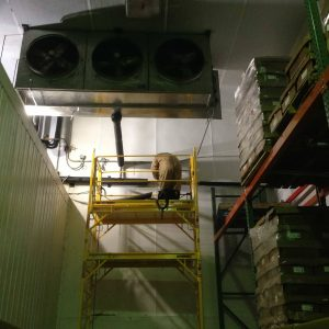 warehouse refrigeration systems