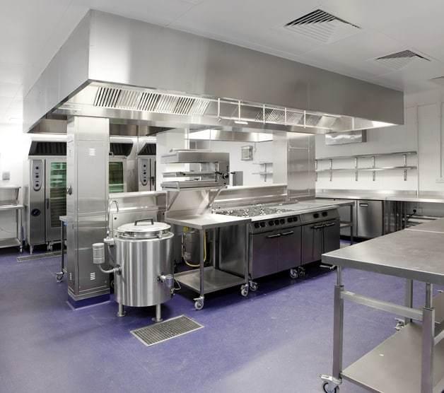 Industrial kitchen ventllation
