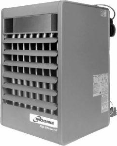 forced air heater