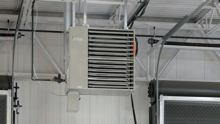 warehouse unit heater