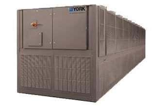 York YVAA Variable Speed Drive Screw Chiller