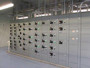 MCC motor control center room