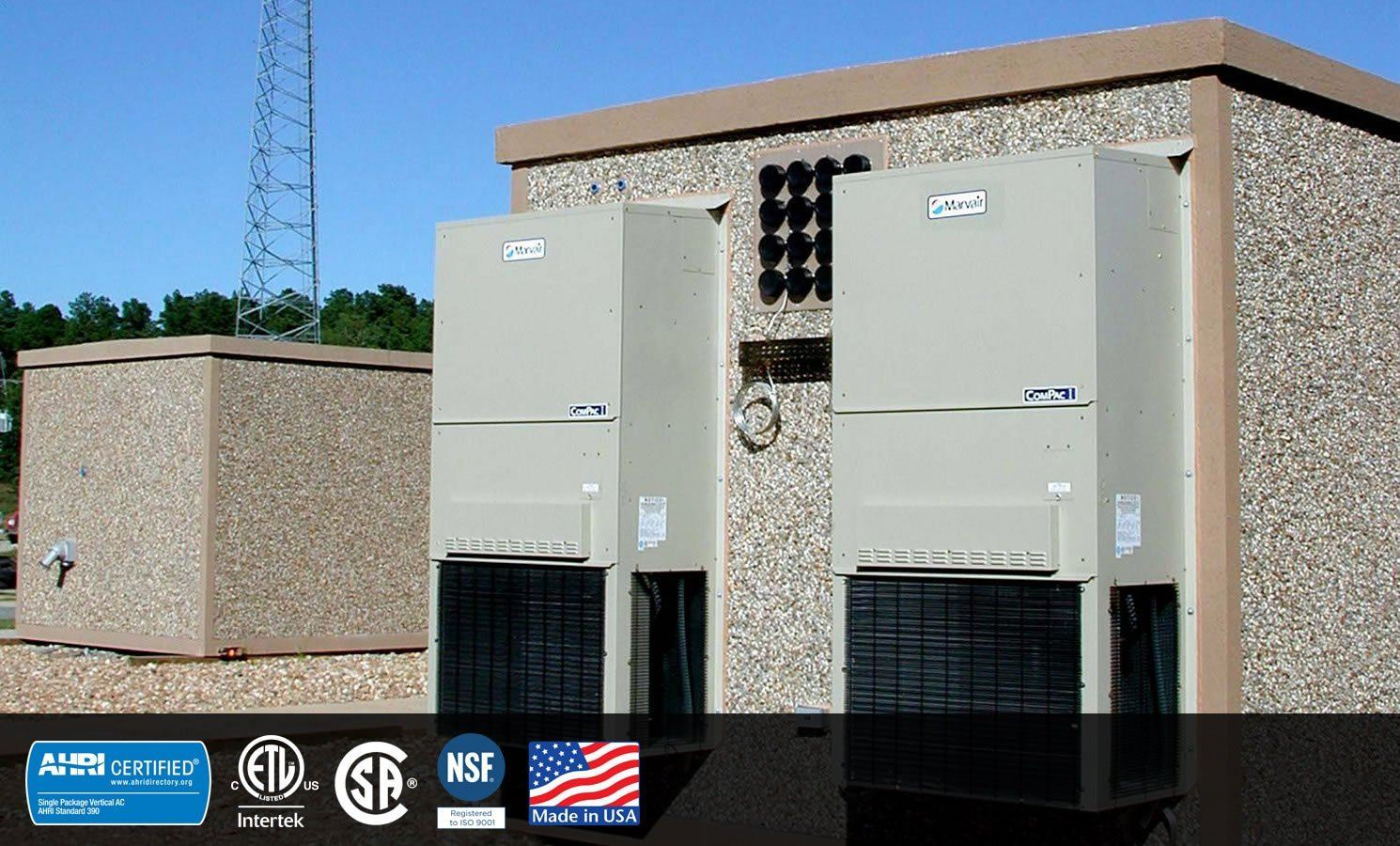 Wall Mount Air Conditioning for Telecom
